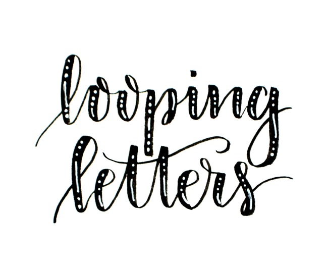 Beginner Brush Lettering: Loops