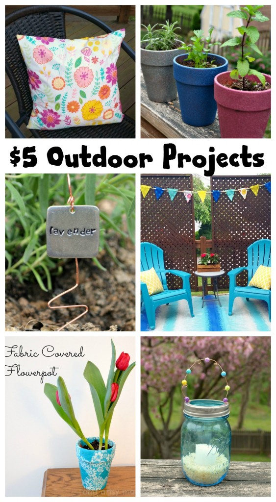 Outdoor Projects for $5 or Less!