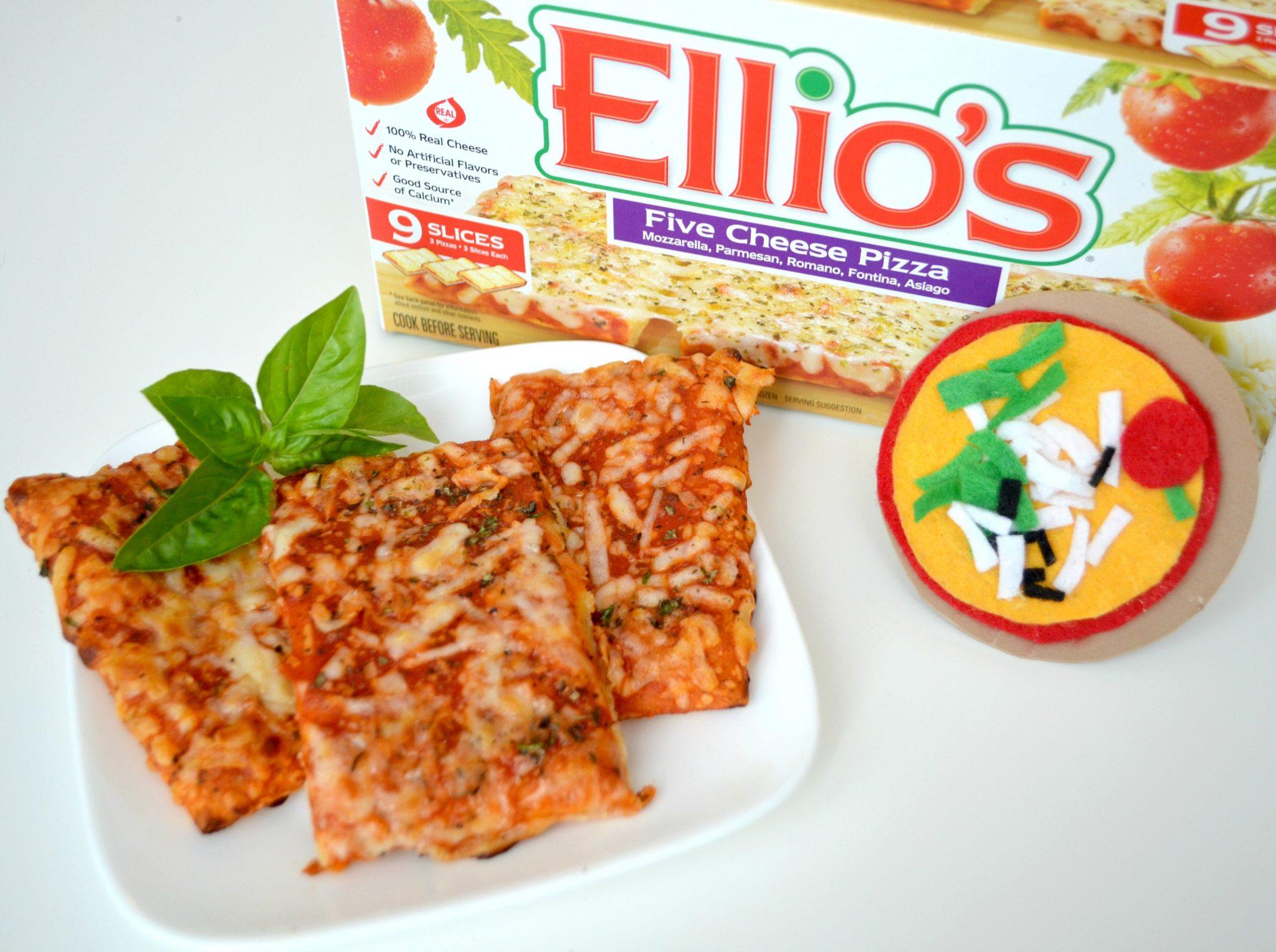 Pizza Magnet & Ellio's Five Cheese Pizza