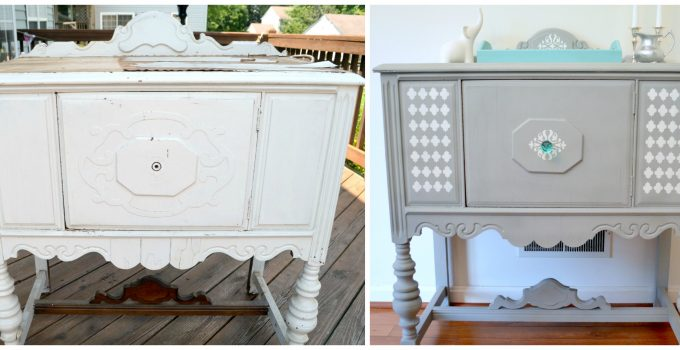 Roadside Rescue: Chalk Paint Buffet Makeover