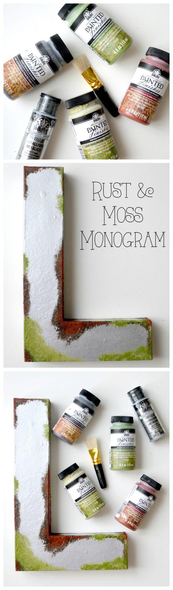 Rust & Moss Monogram