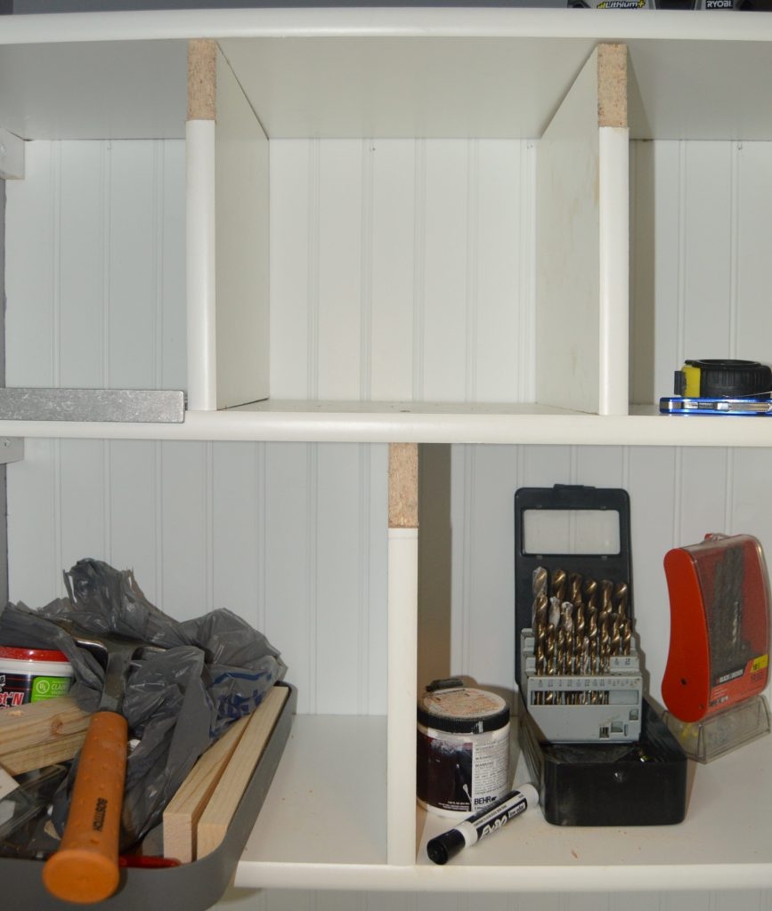 Coat Closet Turned Mini Mudroom