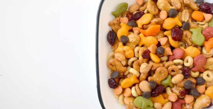 Tasty Trail Mix with Goldfish Crackers