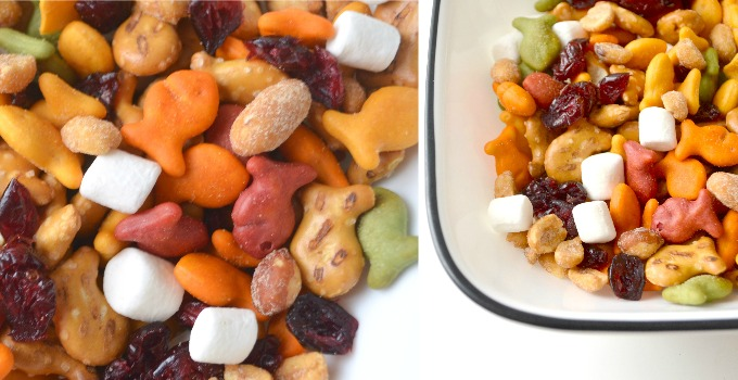 Back to School Snack Mix with Goldfish® Crackers