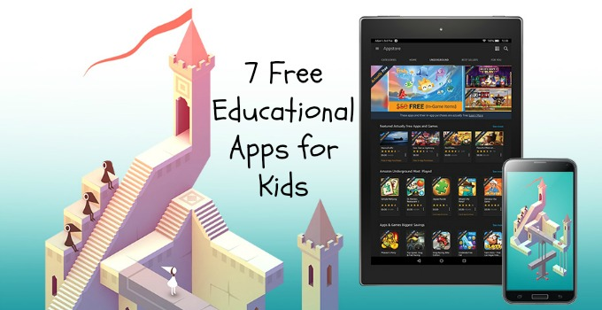 7 Free Educational Apps for Kids