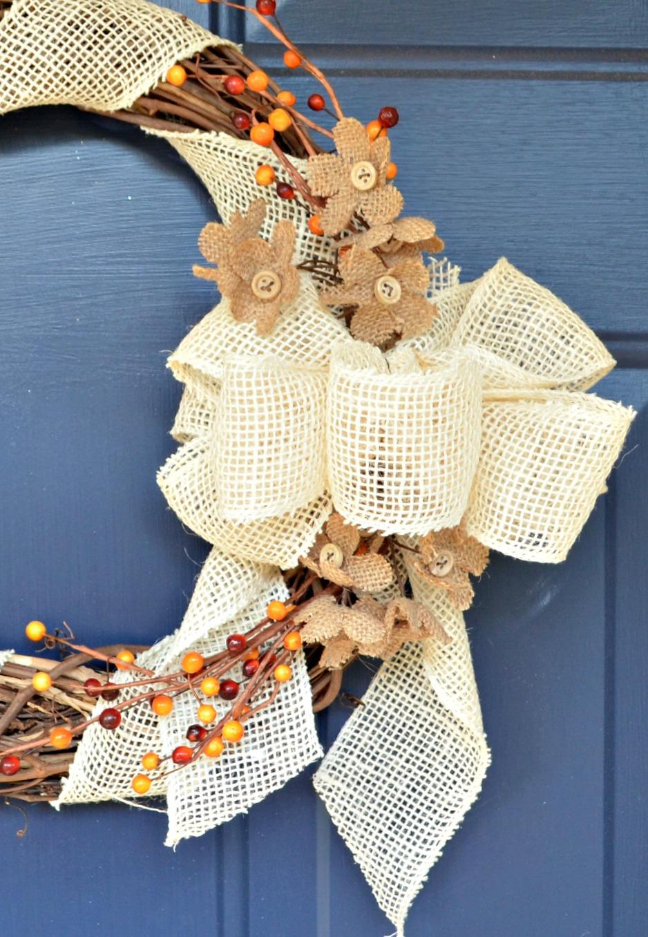Rustic Fall Wreath
