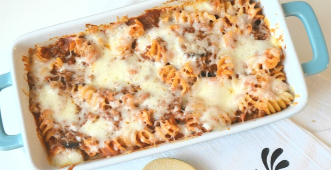 Meat Lovers' Rotini Bake