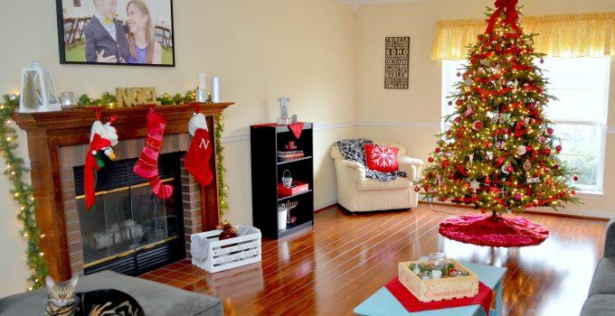 Holiday Living Room Tour Blog Hop