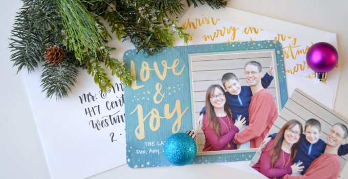 Pop Out Photo Christmas Cards
