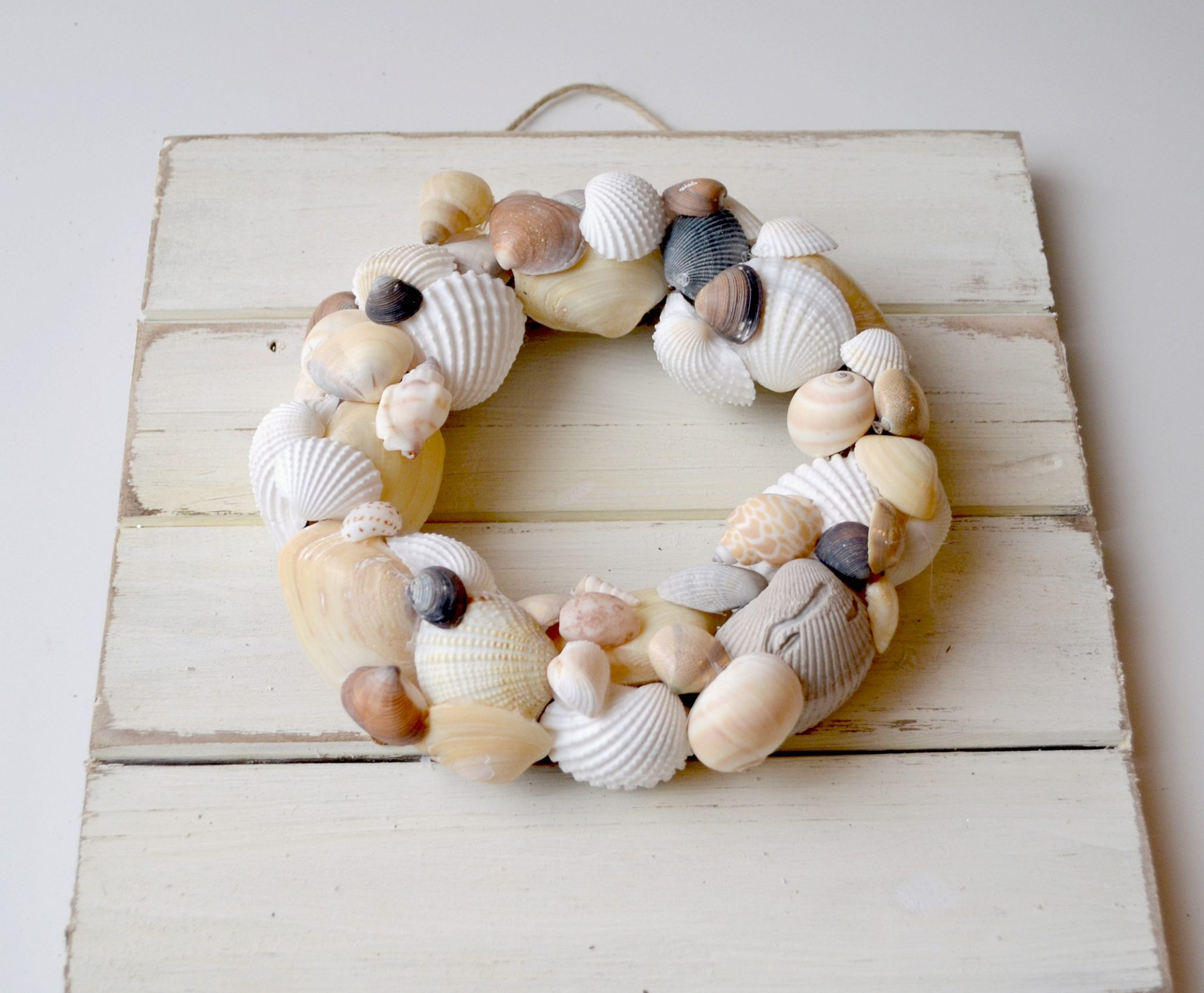 Beach Seashell Wreath