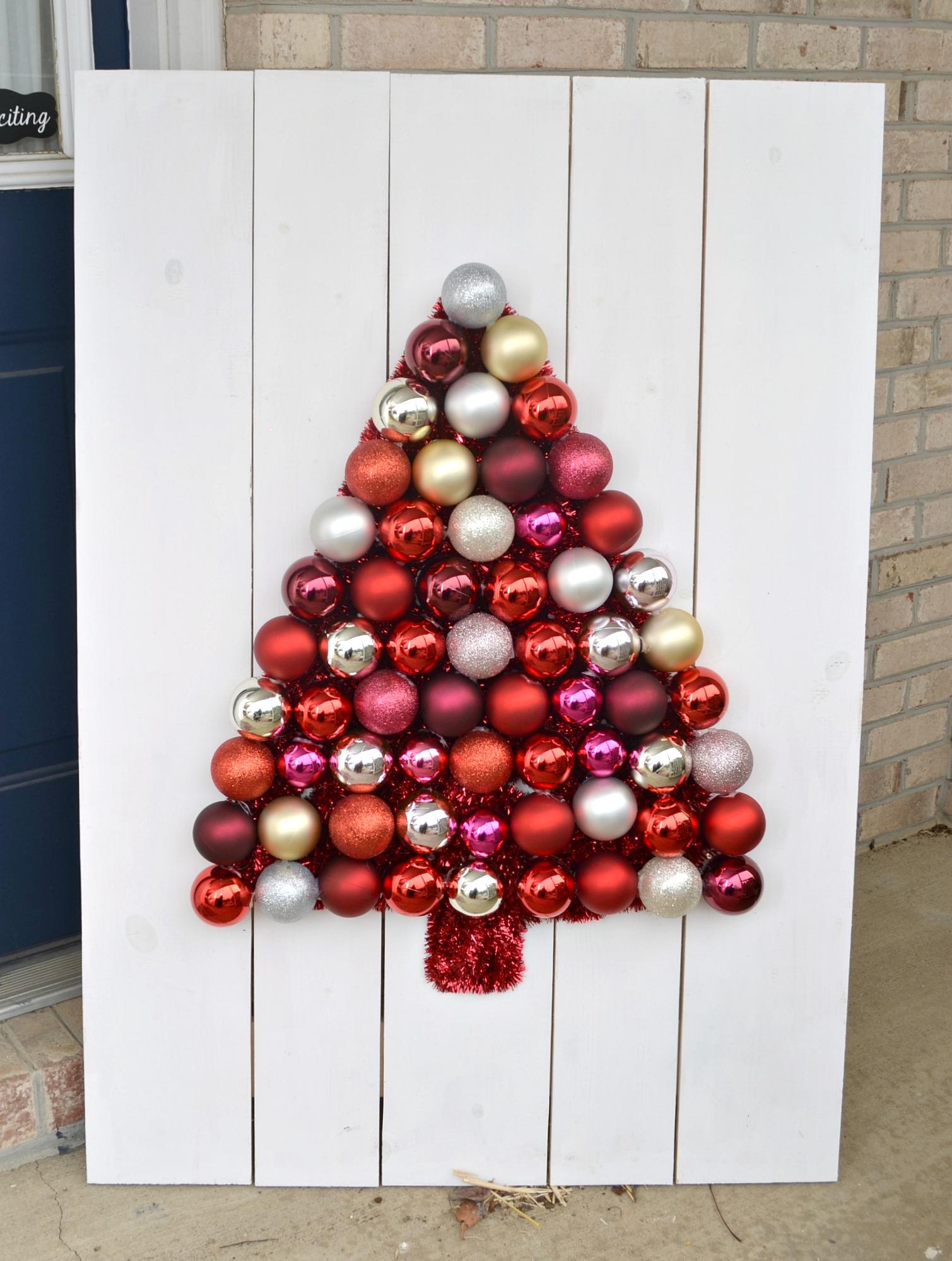 DIY Ornament Tree Display - Amy Latta Creations