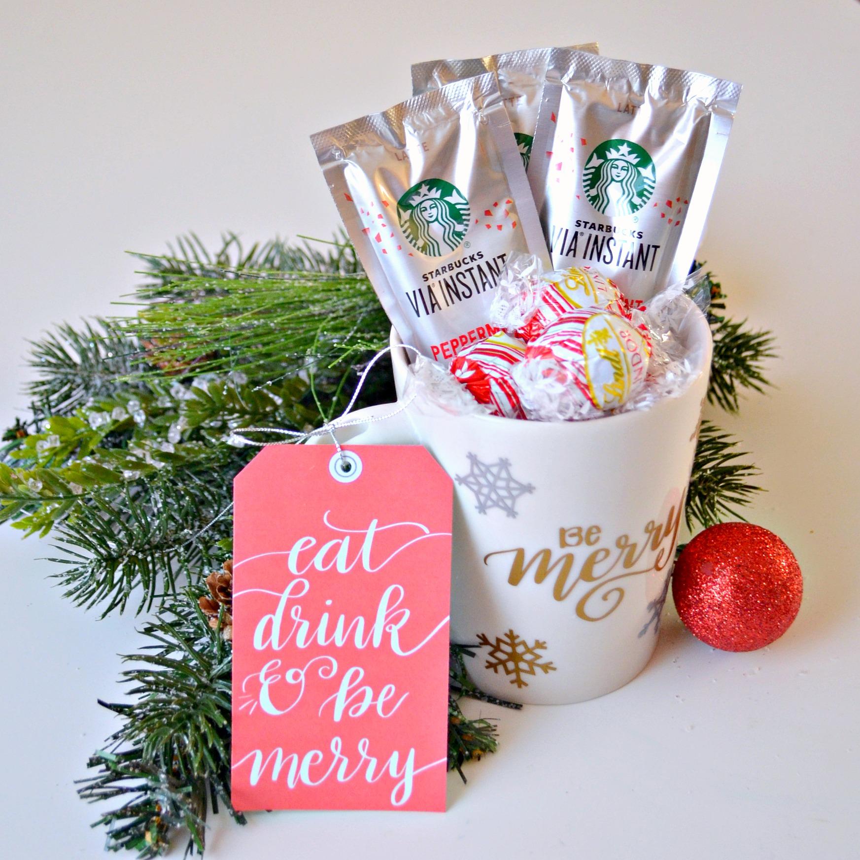 Starbucks & Lindt Gift Idea