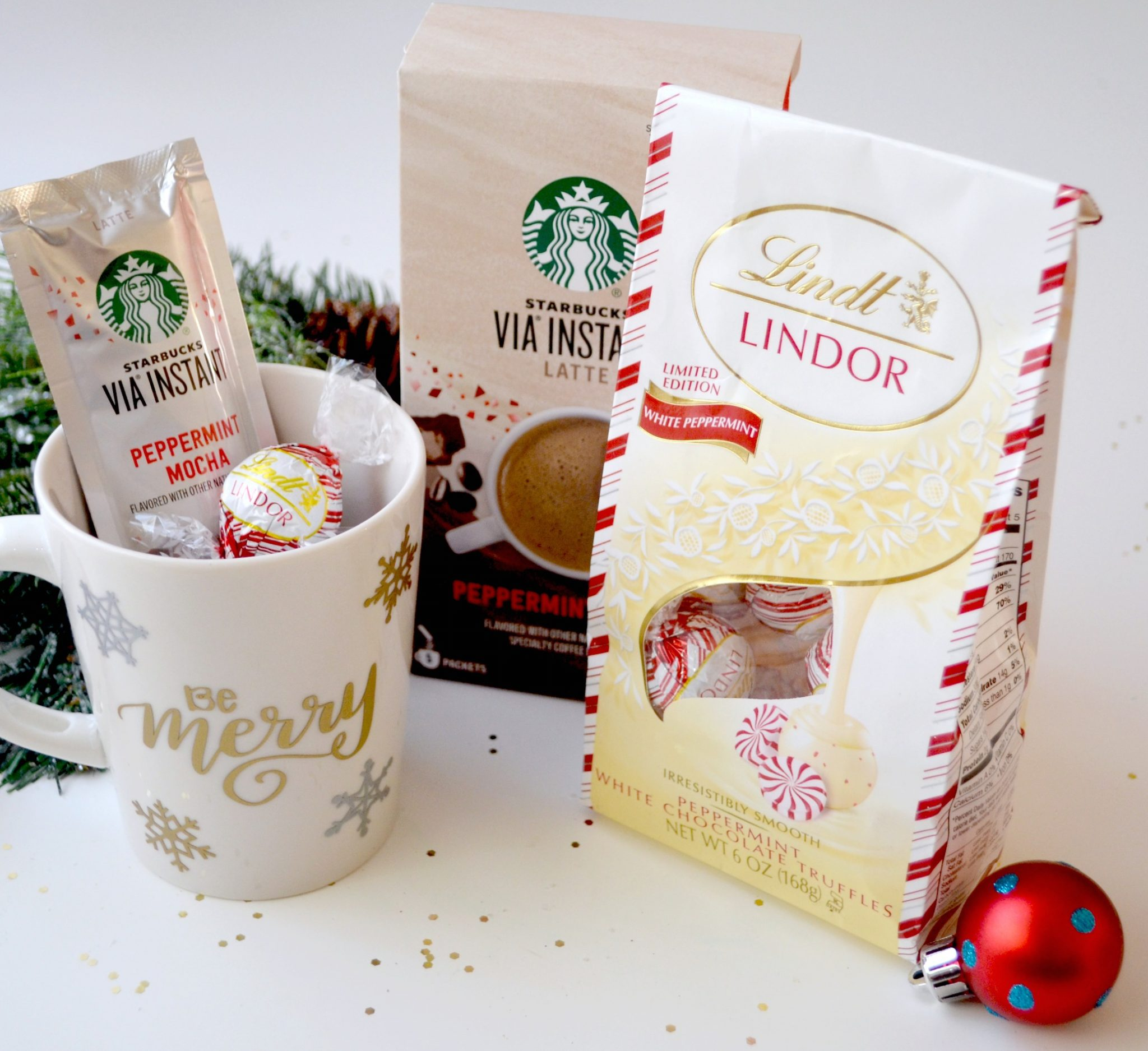 Peppermint Coffee & Chocolate Gift