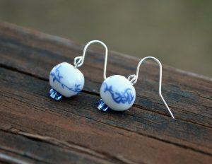 Chinese New Year Dangle Earrings - Amy Latta Creations