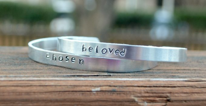 DIY Stamped Mantra Bands
