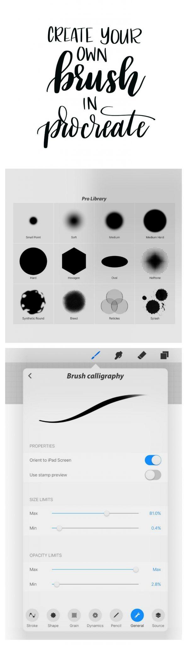 Digital Hand Lettering: Create a Procreate Brush Pen