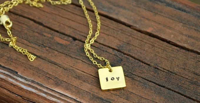 Stamped Pendant with ImpressArt Stamp Guides