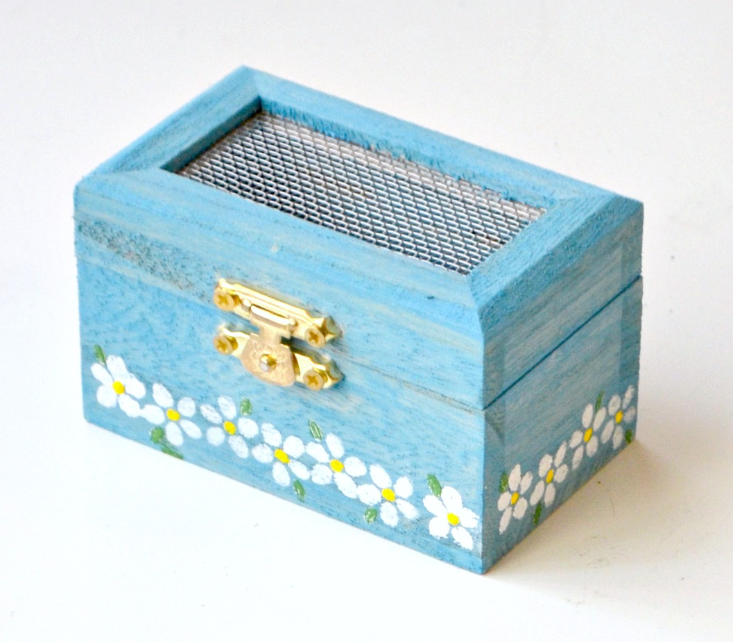 Stenciled Ring Box
