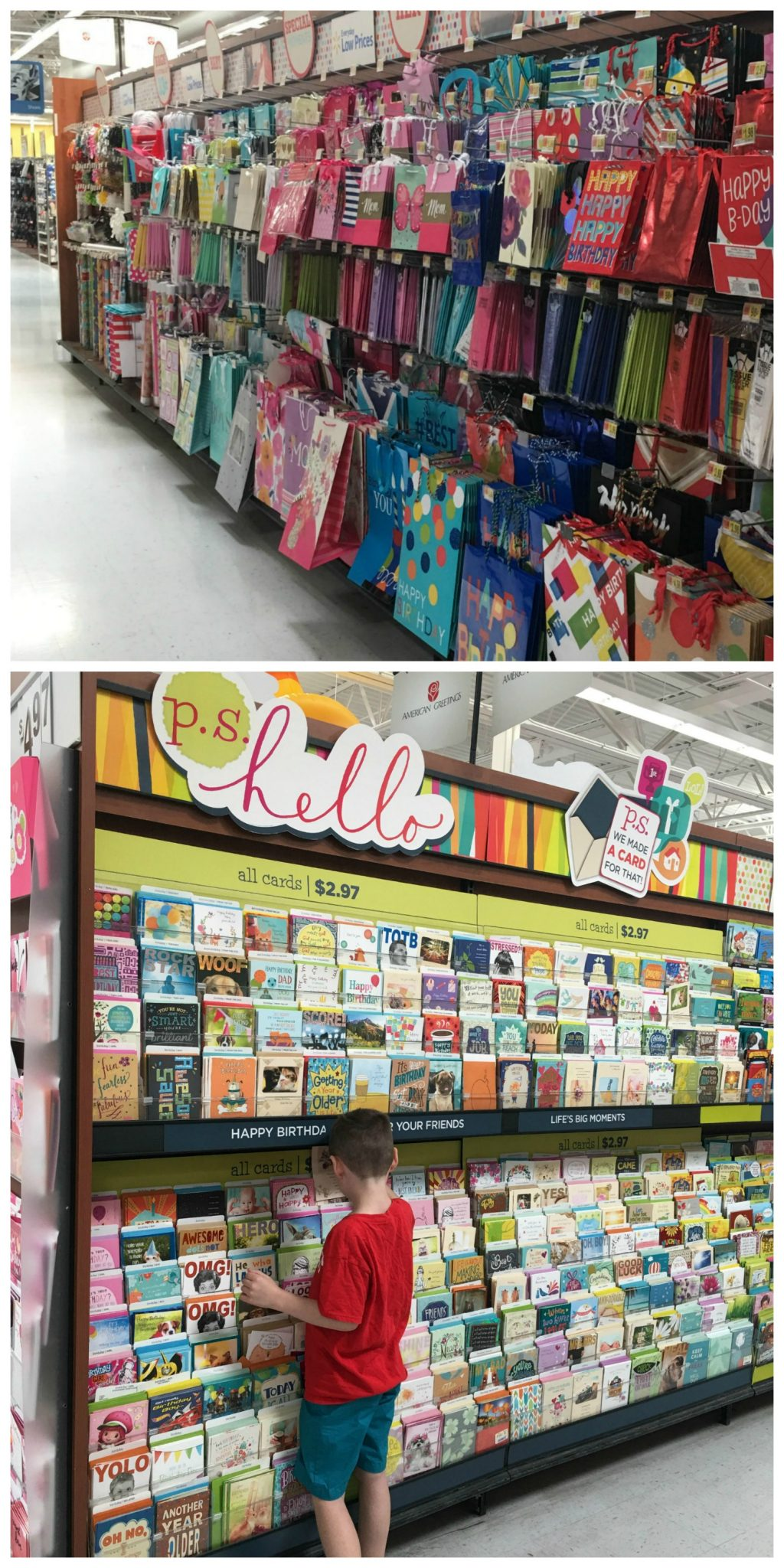 Ps hello cards a just because gift amy latta creations along with all the other great choices in the card aisle there was a new collection called ps hello cards from american greetings m4hsunfo Images