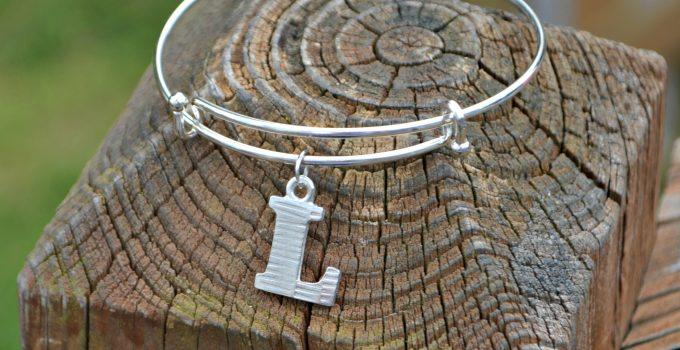 Monogram Charm Bracelet with ImpressArt Letter Charms