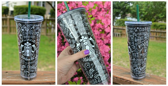 DIY Chalkboard Art Coffee Cup