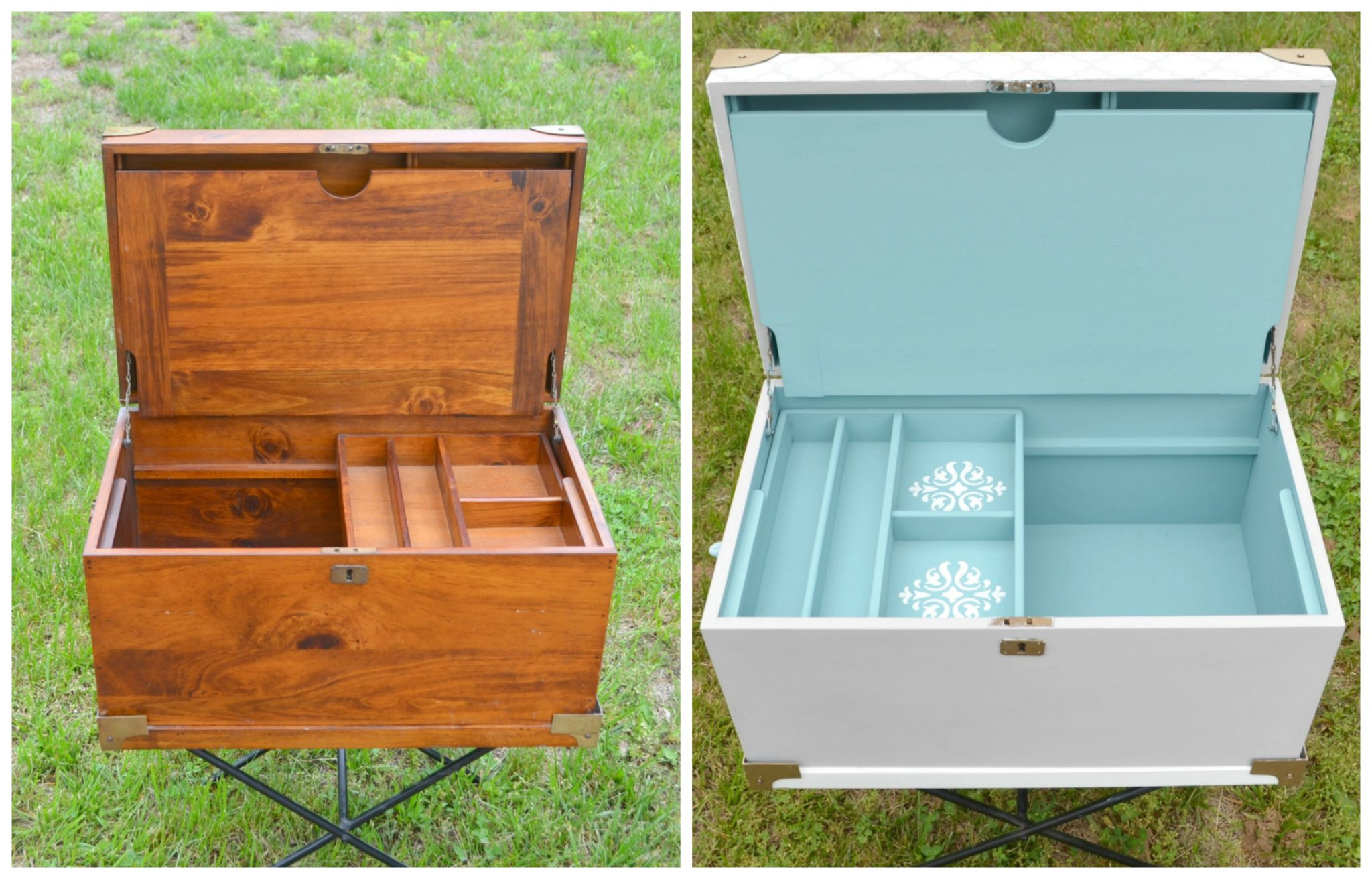 Painted Wooden Chest: A Makeover With FolkArt Home Decor