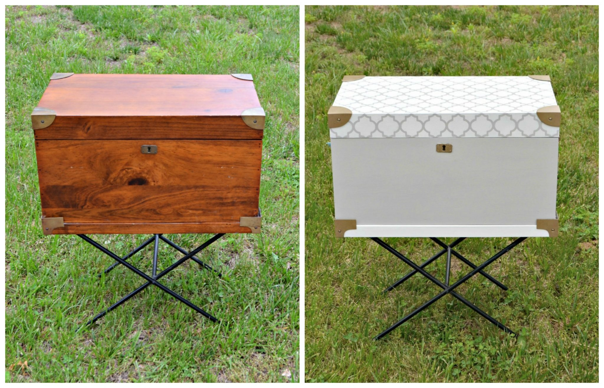 Chalk Paint Furniture Makeover
