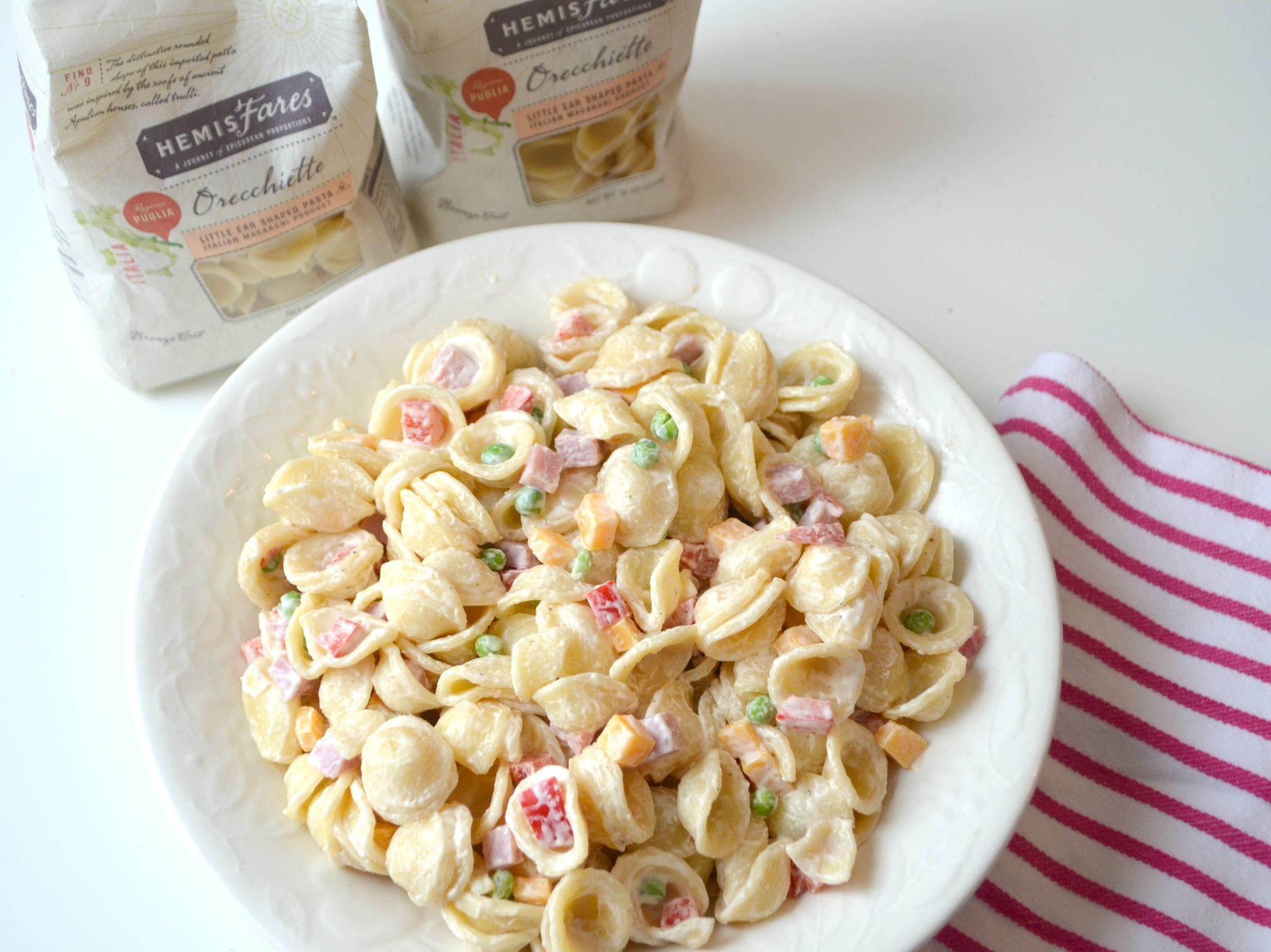 Quick & Easy Creamy Pasta Salad
