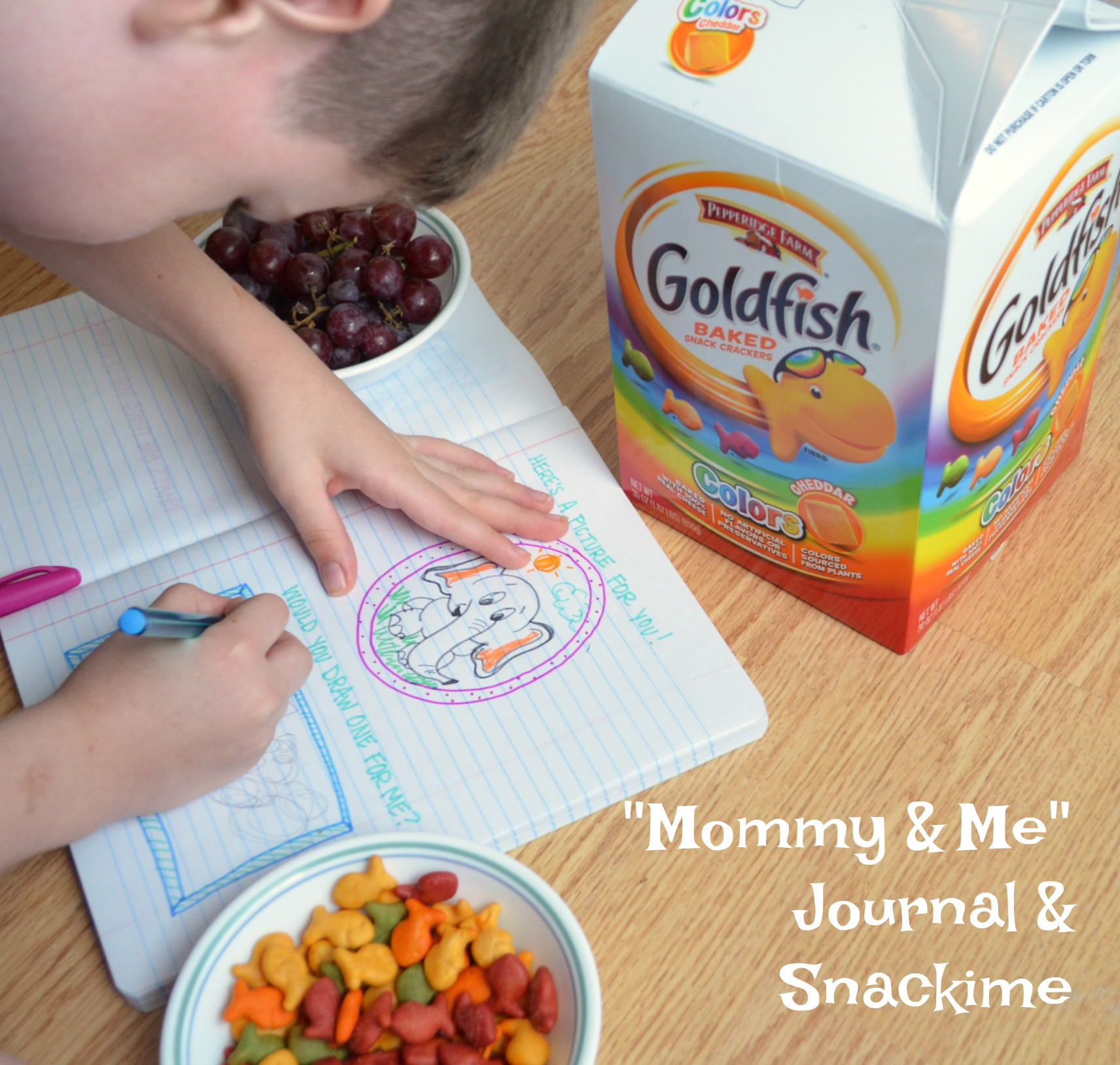 Back-to-School Mommy & Me Journal