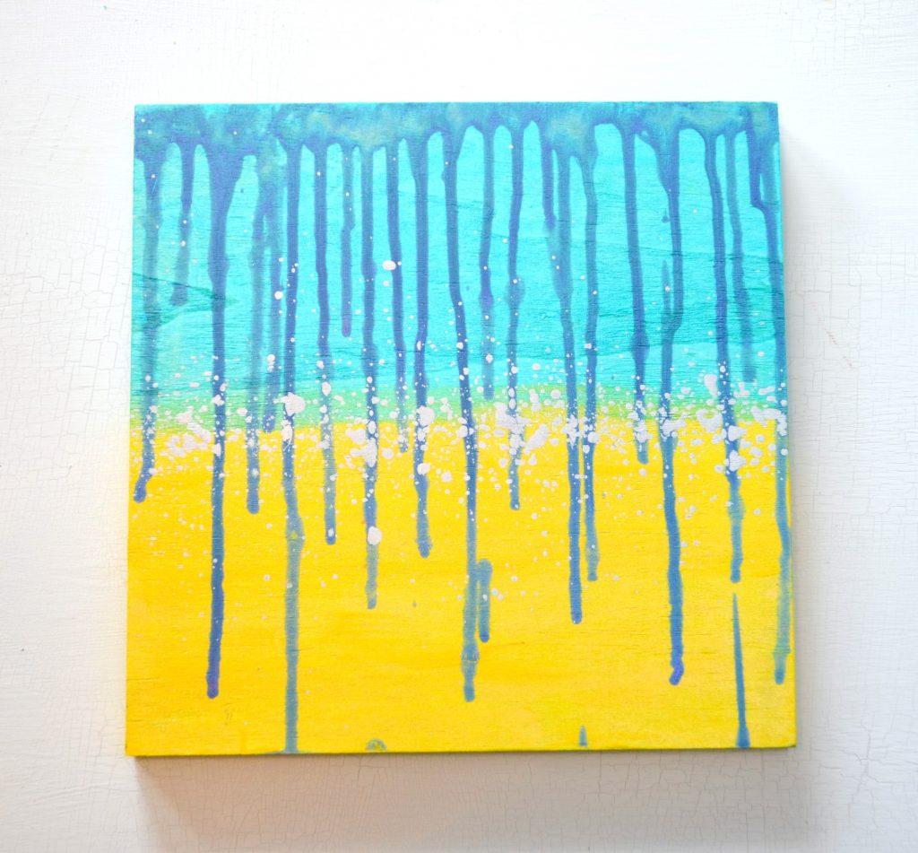 Ombre Color Shift Drip Art - Amy Latta Creations