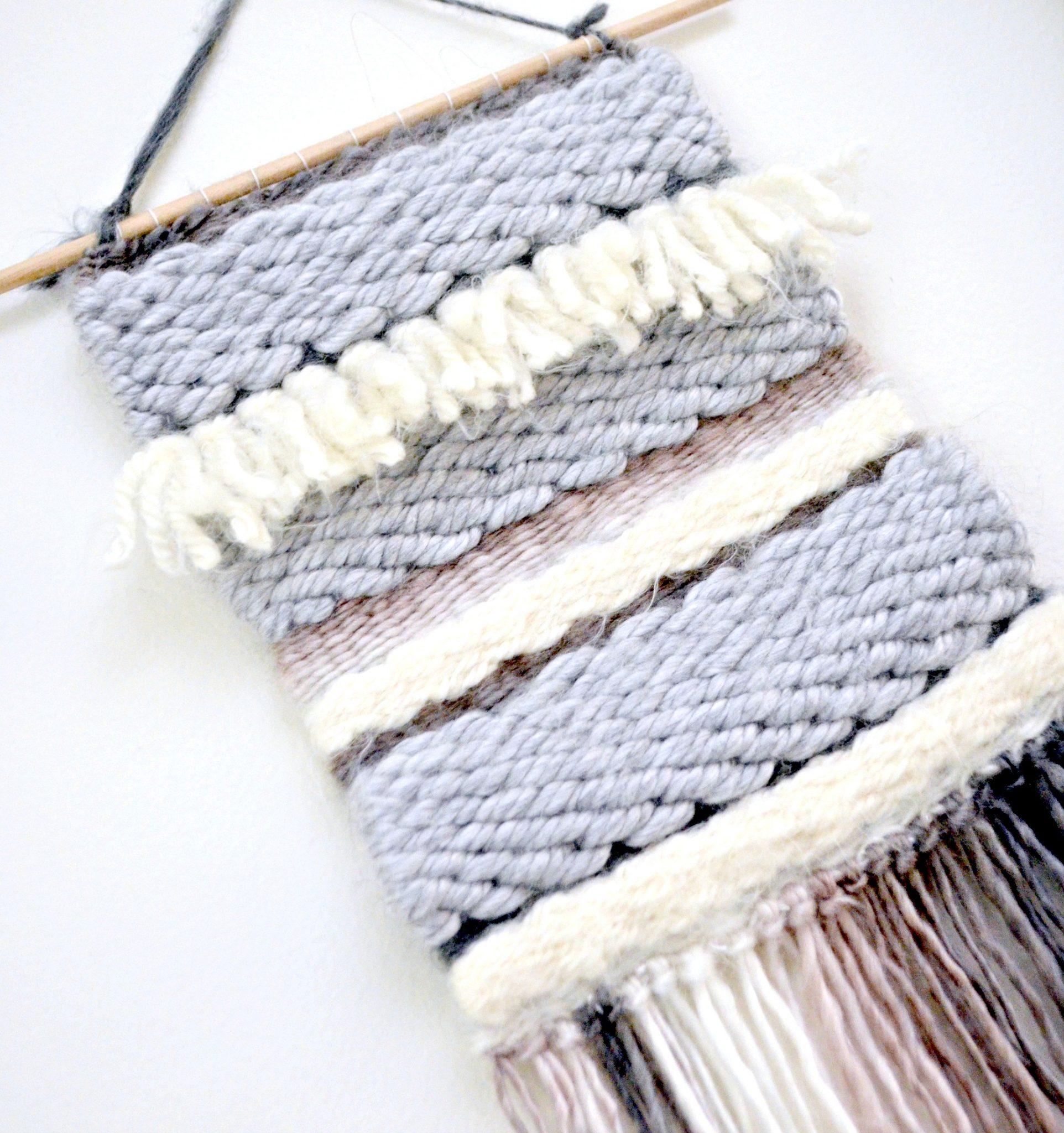 Weaving: Yarn Wall Hanging