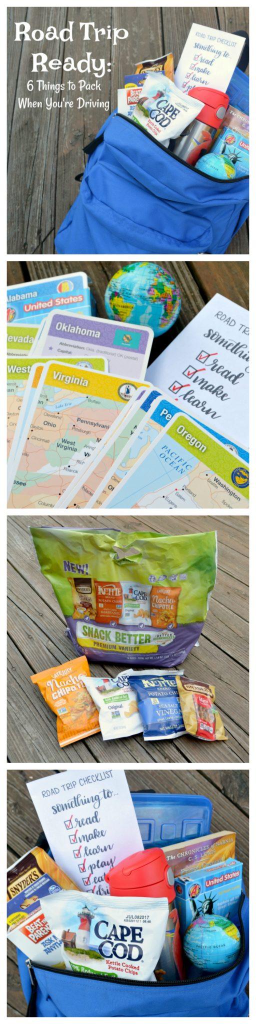 Road Trip Ready: Free Printable Road Trip Checklist
