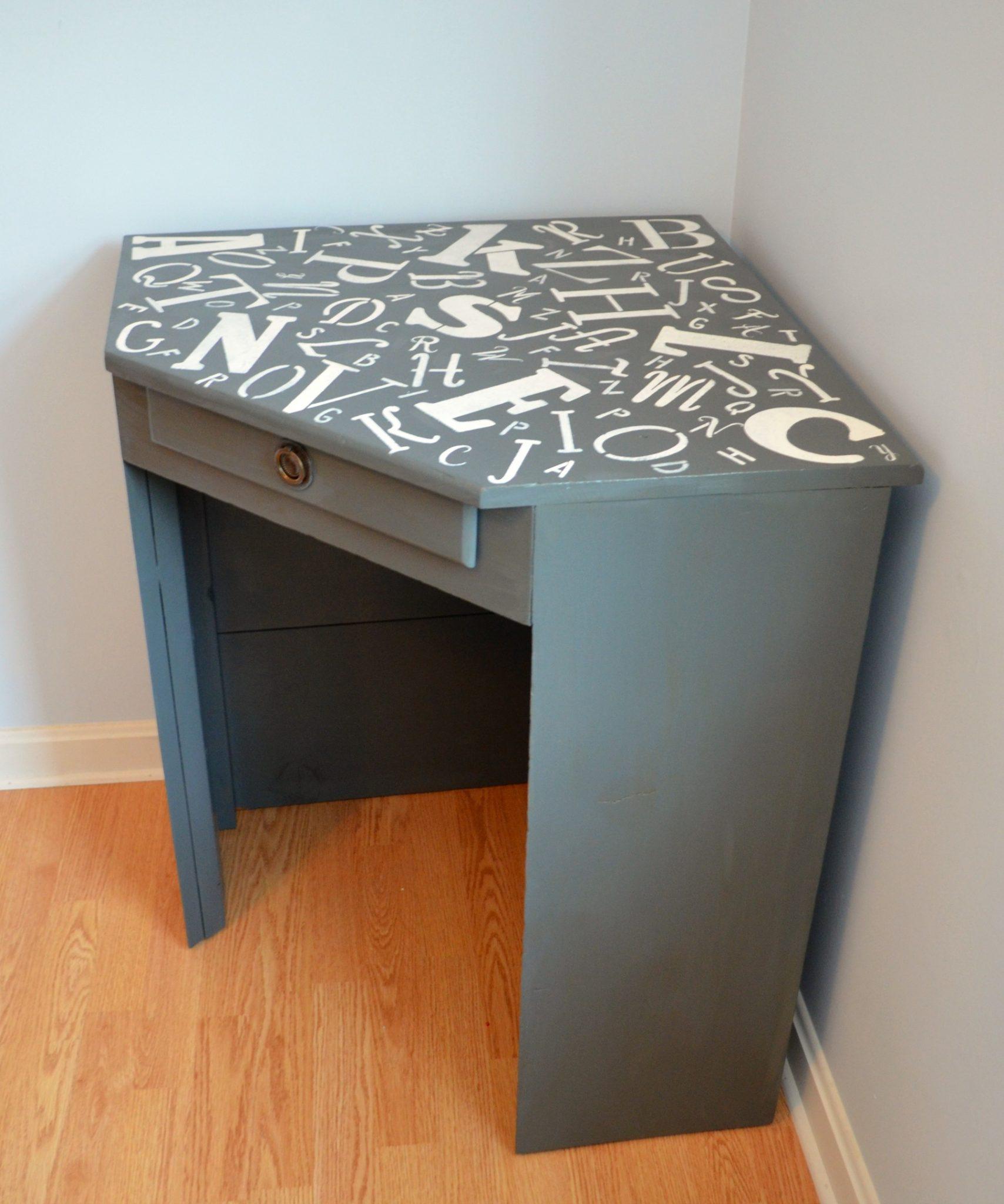 Alphabet Corner Desk
