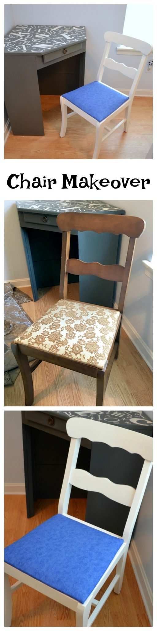 Desk Chair Makeover: Furniture Upcycle