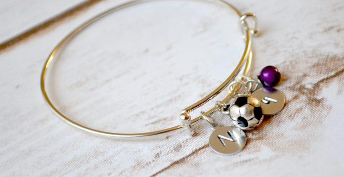 Easy DIY Soccer Mom Bracelet