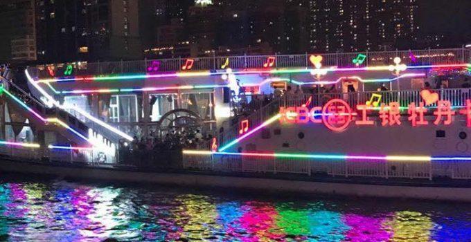 Cruising the Pearl River in Guangzhou