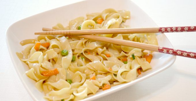 Easy Asian Noodles Recipe