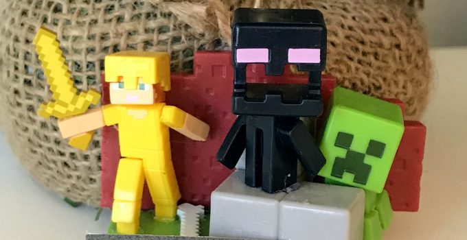 Minecraft Minifigures Ornament