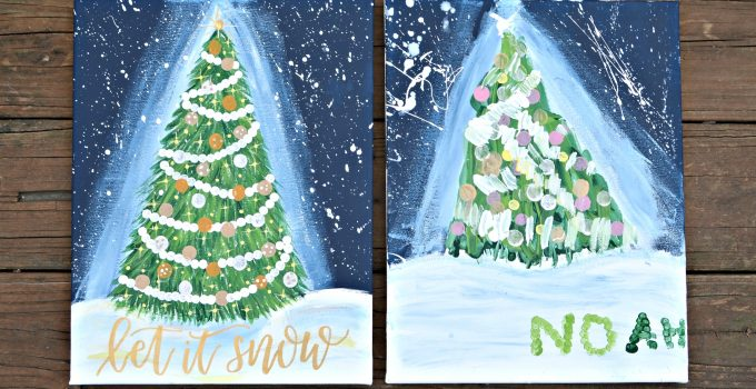 Holiday Magic Canvas Painting