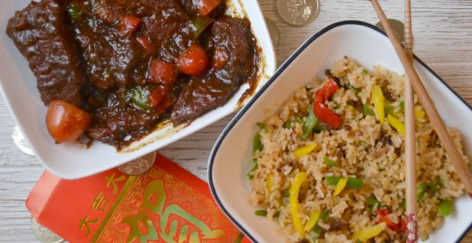 Pepper Steak & Fried Rice