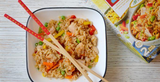 Festive Chopsticks & Delicious Fried Rice