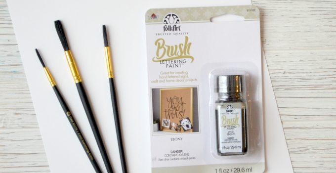 Basic Brush Lettering