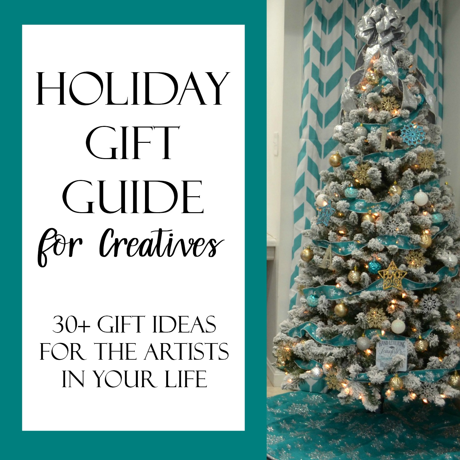 Holiday Gift Guide for Creatives: 30+ Ideas for the Artist in Your ...